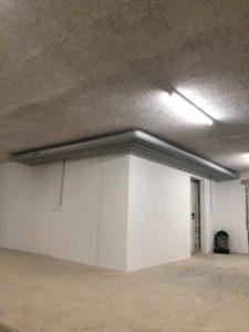 Leitungstrasse/ Kellergeschoss